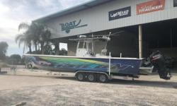 2007 Sabalo 41 Custom CC, Contact Logan at: 337-380-1566 BoatyardLogan@gmail.comStock #84612007 Sabalo 41' Custom Triple Suzuki 250's 850hrs2018 Seatec Triple axle trailerWith more storage than your grandmother pantry and a 400 gallon fuel capacity, this
