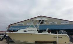 Harbor View Marine in Pensacola just accepted the beautiful 2007 Sailfish 218 Walk Around! YOUR DAY ON THE WATER JUST GOT BETTER.If you want the feel of a center console with the comfort of a walk around cuddy, the Sailfish 218WAC is the boat for you and