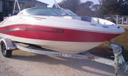 4.3L 6 cylinder motor This boat is perfect and the right colors. Includes radio, bimini top, trailer, snap out carpet, swim deck. Seats like new! Be on the water tomorrow! Nominal Length: 19' Length Overall: 19' Engine(s): Fuel Type: Other