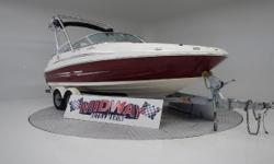 Super clean 24' Deck boat!! These are in very high demand!! Well traken care of and ready for the water! Comes with warranty, Ask about free delivery. We have the largest selection of very clean used Boats in the Northwest! Check our web site before