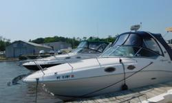 2007 Sea Ray 260 SundancerTypical Sea Ray ergonomics designed throughout make this boat rival any other. It's the best boat in its class, with all the extras you would expect from a much larger, more expensive cruiser.This boat is immaculate! All the