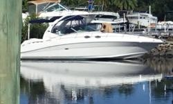 She comes equipped with Twin 8.1 Mercruiser engines that were fully serviced in the last 12 months. Her 10' Garmin and gauges were installed last year.Horsin Around is a well maintained Must See Vessell!!!!! Nominal Length: 34' Length