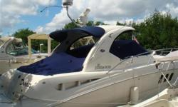 *****$15,000 PRICE REDUCTION -- OWNER SAYS SELL***** Mercruiser Horizon engines 8.1 with 534 hours Ray Marine E120 Ray Marine Autopilot Bow thruster Smart craft display Satellite TV Engine(s): Fuel Type: Gas Engine Type: Inboard Quantity: 2 Beam: 12 ft. 6