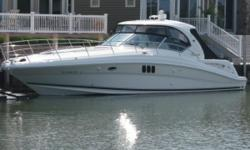*****PRICE REDUCED -- OWNER MOVING UP -- BRING ALL REASONABLE OFFERS*****2007 44' Sea Ray Sundancer -- Immaculate Condition + Only 500 Hours on Cummins Diesel QSC-500'sFormer Fresh Water Vessel LOADED with Options: Cockpit A/C & Heat, Satellite TV,
