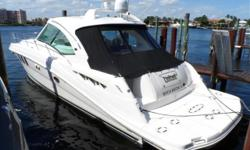2007 48' Sea Ray Sundancer -- Excellent Condition -- Captain Maintained & Ready to GoLoaded with Options: Twin Raymarine E120's, Upgraded M5 Satellite TV System, Bow Thruster, Underwater Lights, Teak Helm Area + Much More!! *****Owner Says Sell -- Call
