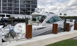 *****PRICE REDUCED SEPTEMBER 2018 -- BRING ALL REASONABLE OFFERS****2007 48' Sea Ray Sundancer -- Well Maintained White Hull Vessel -- Freshly Waxed & Standing TallLoaded With Upgrades: Hydraulic Swim Platform, Satellite TV, Cockpit A/C + Heat, Bow