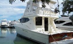 FRESH BOTTOM PAINT & PROP SPEED - SEPT 2018! Bubba Lu is a 2007 Silverton 45 Convertible, custom built and rigged with the cruising sportsman in mind. Owned by a meticulous owner, this beamy vessel has the stability to challenge rough seas and