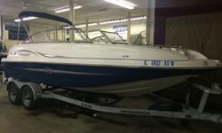 Motor Information: 2007 Yamaha Fuel Injection Outboard 150 HP Serial Number: 63P-X-1038169 Power Trim/Tilt 4 StrokeTrailer Information: 2007 Harbor View Trailer Tire Size: 14 Bunk Trailer Dolly Wheel Swing Tongue Tandem Axle Load Guides Brakes Spare