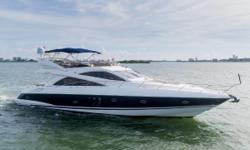 Major price reduction owner has purchased a new boat SOLE MIO is a stellar example of a late model Sunseeker 66 Manhattan. She has been caredfor with a open check book and has been captain maintained since the owner has takenownership. All her