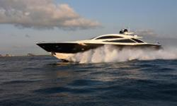 Speed, luxury and sophistication define the performance and stunning beauty of the Sunseeker Predator 108 Double D. With features and finishes you might only expect to see on a large motor yacht, the Predator blends large yacht opulence with sleek sport