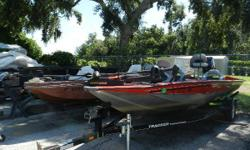 Looking to get out, Relax and Fish? Here we have a 2007 Tracker PT175. It is powered by a 2006 Mercury 50ELPTO. It has a Minn Kota Maxxum 24 Volt 70 lb. thrust trolling motor with foot pedal control and a Lowrance X37 fishfinder. Nominal Length: