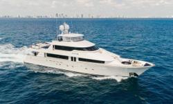 With $4 million invested in 2014, and another $1.5 million in 2016, this 130' Westport is turn­key ready. Her interior layout sleeps up to 10 guests in 5 staterooms, including a master suite, 3 double cabins and 1 twin cabin. She's also capable of