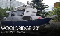 Actual Location: Anchorage, AK - Stock #109742 - If you are in the market for a pilothouse, look no further than this 2007 Wooldridge 23 SS Pilot House, priced right at $121,200 (offers encouraged).This boat is located in Anchorage, Alaska and is in great