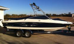 BOAT OWNER'S COMMENTARY. This 2008 Sea Ray 205 sport is a sharp looking boat with the Sea Ray quality. Smooth inthe water and rides like adream. The upgraded MerCruiser 5.0, 260 HP enginehas plenty of power for all your