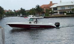 """Category: Powerboats Water Capacity: 35 gal Type: Cruiser (Power) Holding Tank Details:  Manufacturer: Everglades Boats Holding Tank Size:  Model: 350 CC Passengers: 0 Year: 2008 Sleeps: 0 Length/LOA: 35' 0"""" Hull Designer:  Price: $239,900 /"""