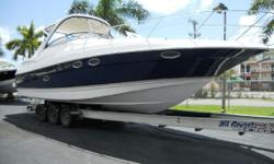 Please contact Joe Perez at 561-248-1117.Hull & Deck:Aluminum hardtop, anchor windlass with 150 of chain & 150 of ½ rode including dash & bow switches, Deep-V Ocean Trac hull (19 degree dead rise), extended swim platform , dash cover, fore deck sun