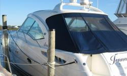 THE 48DA IS THE BENCHMARK FOR THE MOST BEAUTIFUL BOAT EVER MADE, AND THIS BOAT PROVES THAT. SHE HAS BEEN EXTREMELY WELL CARED FOR AND SHOWS LIKE A BRAND NEW BOAT. WITH ITS SMOOTH FLOWING LINES, SHE IS STUNNING TO LOOK AT. SHE IS EQUIPPED WITH ALL THE