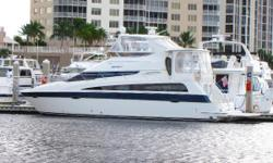 Twin Volvo Diesel, Dual Hard Tops, Fully Enclosed, Raymarine Complete Package Hybrid Touch, This yacht has the room of a 50ft + vessel, Excellent Condition. Nominal Length: 47' Max Draft: 3.5' Engine(s): Fuel Type: Other Engine Type: Inboard Draft: 3 ft.
