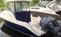 *****HUGE PRICE REDUCTION 3/28/2017 - OWNER SAYS SELL*****  2008 25' Cobia -- Blue Hull Vessel w/ Cuddy Cabin  Only 284 Hours on Twin Yamaha 150 Four-Stroke Outboards  Loaded with Upgrades Including Garmin Electronics, Hard Top &