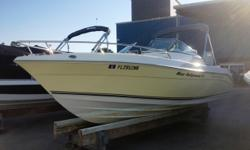 2008 Cobia 215 Dual Console Powered by a Yamaha 200 HP Four Stroke Engine with only 132 Hours. Nicely Appointed Dual Console with Bimini Top, Sony Marine CD Player with Aux Input, Lenco Trim Tabs, Transom Livewell, Gunwale Rod Storage, Porti Potty, Dual