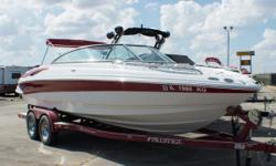 Wow! I bet you didn't think you would find a 2008 bowrider this clean! From top to bottom, this boat is in great shape with years of pampering to back it up. Don't miss out on this incredible deal.Built on the F.A.S.T. Tab platform, the 230 LS offers all