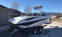 2008 Crownline 23SS 496 HO 2008 Crownline 23 SS. It has the rare option of a 496 HO - 425 HP. Boat runs 63 MPH.The boat is flawless and meticulously maintained. It has a $15000 stereo that goes with the boat. 12V receptacle Anchor storage compartment -