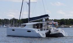One Owner, Low Hours,Never Chartered Be sure to watch both walk-through videos above! This one owner French built cat has been very lightly used. The boat has been professionally maintained and has complete service records. All controls