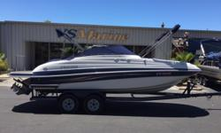 The Funship is a family deckboat that delivers functionality, generous cockpit space, entertaining amenities and good performance. Powering this sportboat is no less than 9 different engine and drive packages to choose from.Key FeaturesNMMA