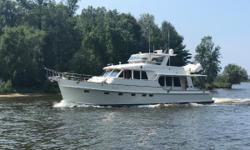 PRICE REDUCTION OF $75,0000- NOW $1,650,000!!!-9-12-18- HOME  JAMES is in excellent condition, extensively equipped for cruising and features twin Caterpillar C-18 1,000s with low hours and cruising speeds of 20 knots.  The gloss interior