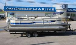 """2008 Harris Flotebote Sunliner 200 ? 2008 Honda 90HP VTEC Outboard ? Double Bimini Tops ? Full Mooring/Towing Cover ? Captain's Chair ? Fire Extinguisher ? Changing Room ? 4-Step Folding Ladder w/ Handrail ? """"L"""" Shape Cockpit Seating ? Upgraded Helm"""