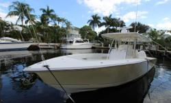 ***Lowest Priced 34' Jupiter Forward Seating Available*** Twin 350 Yamaha's- All Services up to date. 100 hour service just completed. Fighting Lady Yellow Hull, Black Bottom Paint. Furuno Electronics & Furuno Open Array Radar. Simard AP16 Autopilot, iCOM