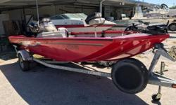 Spare tire w/ Mount, Motorguide 46lbs 12V Foot Control Trolling Motor, Garmin Echo 150 bow mounted, Eagle Cuda 127 Fish Finder on console, Mooring Cover Nominal Length: 17.5' Engine(s): Fuel Type: Other Engine Type: Outboard Stock number: FL0074NU