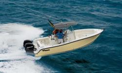 With the power to handle heavy seas and the rugged, good looks MAKO is famous for, the 264 Center Console has the size and speed needed in open waters. Built in the MAKO tradition, it boasts a �øtougher-than-nails�ø disposition, a smooth, dry ride and a