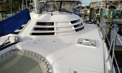 Miss Treated Too is a prime example of the highly sought after Manta 42 MKIV catamaran, in sail away condition. This was the last and most refined version of the Manta catamaran series, and is a cruisers dream come true. The yacht is outfitted for
