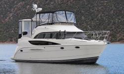 2008 Meridian 368 Motoryacht Professionally maintained freshwater Meridian. Boat is located in Flaming Gorge, Utah.. Owner is looking to move into larger Meridian model and open to all offers. Loaded with many upgraded options. 8.1