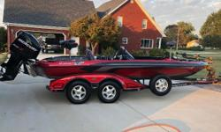 Z520 Comanche! One owner, 365 hours, Mint condition, Lowrance 8 & 10 Gen2's, 24 Volt Minnkota, 3 bank onboard charger, travel cover, hamby's keel guard, new wheel bearings, ss Transducer, Perfect condition. Everything works as should. With