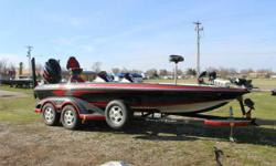 2008 Ranger Z520 with a Yamaha 225 and Custom Trailer Join a whole new level of leadership! With muscle car inspired engineering and a long list of best-in-class features, the exclusive Z-Comanche designs have taken acceleration, handling, fishability and