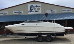 *** Stk # 5389** 2008, Regal, 2400 2018 Marine Power E5.7 V-VR2 350 HPOptions and Features:The hull and seating condition is in 'eye opening condition.'** Bimini Top** Swim Step Platform** Dual Prop** Vacuum Flush Head** Garmin Echo** 2 x 4 Pkg Life