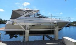 PRICE REDUCED $28,000 - OWNER SAYS SELLPerfect weekender for 2 couples. This 2008 Regal 4060 Commodore. She features low hour Volvo diesels with the IPS system which makes for extremely easy handling in and out of the slip. She also features a two