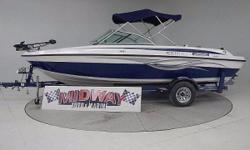 Go directly to our Midway web site for much more info and pictures. www . midway auto and marine . com WE TAKE TRADES!! FINANCING AVAILABLE!! ALL BOATS COME WITH WARRANTY!! 1 owner very very little use. We sold this one when it was