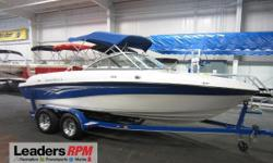 2008 Reinell 207 LS 2008 REINELL 207 LS WITH ONLY 145 ENGINE HOURS!   A 220 hp Volvo Penta 5.0L GL V8 inboard/outboard engine powers this nice fiberglass bowrider.   Features include:  snap-on bow and cockpit covers, removable