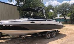 2008 Reinell 246LSE This boat is really nice 24 foot Runabout ready for the lake Has tower All services completed AM FM Depth Fish Box Boat Cover Fresh Water Swim Ladder Swim Platform Ship to Shore Satellite Radio Located in Cedar Park TX Financing