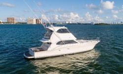ST ONE is a convertible design with a motor yacht feel featuring a 3 stateroom 2 head layout. Classified as a Convertible Yacht due to her ability to be used as a Family Offshore cruiser or a fully competitive Off Shore Tournament Sport Fishing