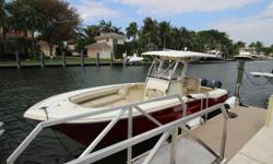 ***Scout 262 XSF 2008*** Only 194 hours on twin Yamaha 150 Four Strokes Only in Saltwater since 11/2016. Hard Top with Storage Just waxed & detailed Full Boat Cover Head in Console Nominal Length: 26' Drive Up: 2.4' Engine(s): Fuel Type: Other Engine