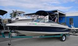 2008 Sea Ray 205 Sport with a new Mercruiser 5.0L with warranty  The 205 Sport is one of the best handling 20-foot bow rider boats ever built. It has room for all your gear and will pull a skier out of the water with no problem. This boat comes with