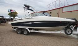 2008 Sea Ray 230 Sundeck, 2008 Sea Ray 230 Sundeck with Mercruiser 6.2 MPI 320 HP Engine & Bravo Three, dual prop outdrive with 235 hours. Very clean boat loaded up with tower speakers & racks, large swim deck, fresh water system, head and tandem axle