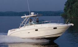 Pristine and Versatile! This Amberjack excels as both a comfortable family cruiser and well-equipped fisherman. The original owner just completed full bottom and drive services, and has maintained all her records since new. Some notable