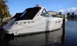 Newly listed, exceptionally clean 2008 Sea Ray Sundancer powered with twin 8.1L 370 HP Mercruisers, V drives. Only 441 hours on the engines, 207 hours on a 5kw Kohler generator.  Cockpit carpet recently replaced Canvas recently replaced Bottom