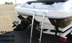 This is a one owner Sea Ray that was kept indoors and has very little use. It was ordered with the factory upgrade motor. This boat has been serviced in our Certified Marine Shop every year and is in new condition. * Stored Undercover * Snap in Carpet