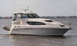 2008 40' Sea Ray Motor Yacht - Excellent Condition Inside & OutLoaded with Upgrades: Twin Cummins Diesels, Twin Raymarine E120's, St. Croix Davit System w/ 9' Tender, Bow Thruster + Much More!!Won't Last at this Price - Call with an Offer or to Schedule a
